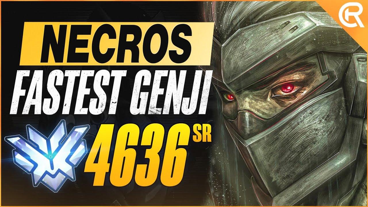 Download BEST OF NECROS - FASTEST GENJI ALIVE | Overwatch Necros Genji Montage