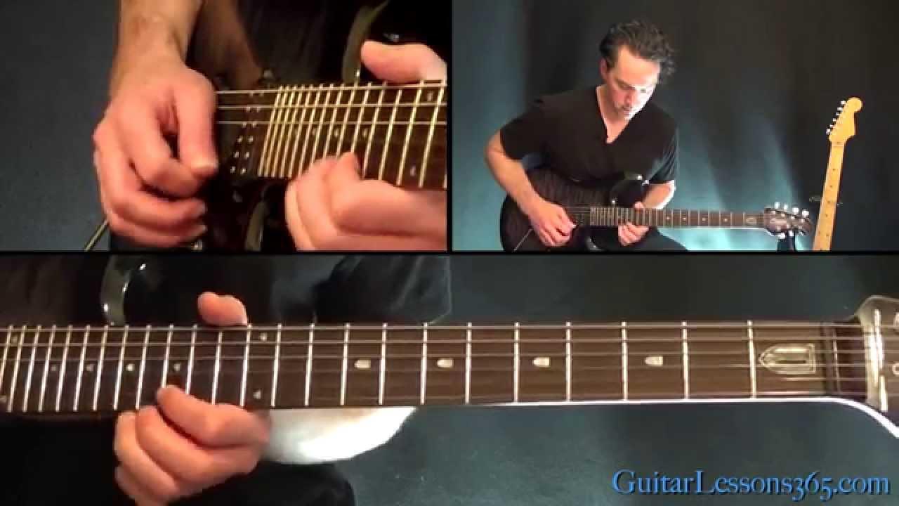 Civil War Guitar Lesson Pt3 Guns N Roses Main Outro Solos