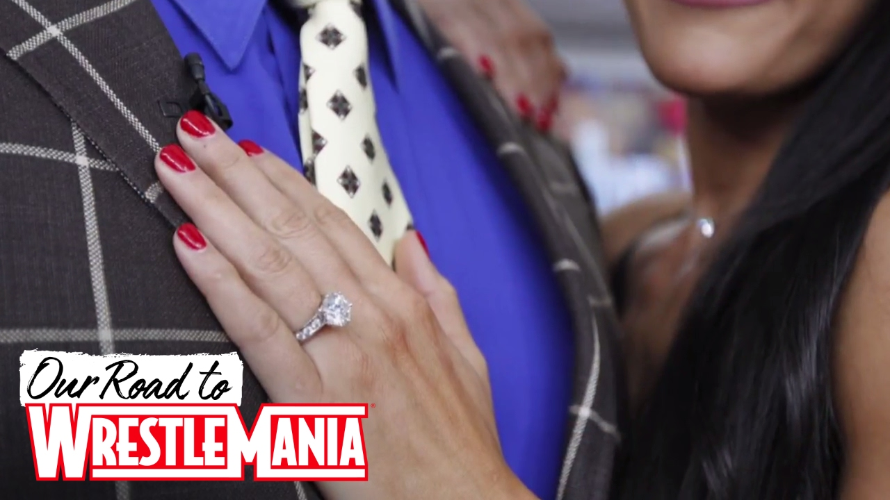 Exclusive photos of Nikki Bellas stunning engagement ring YouTube