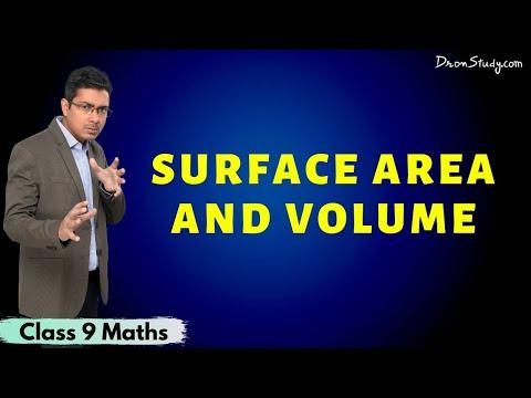Surface Area And Volume | Class 9 IX CBSE Mathematics