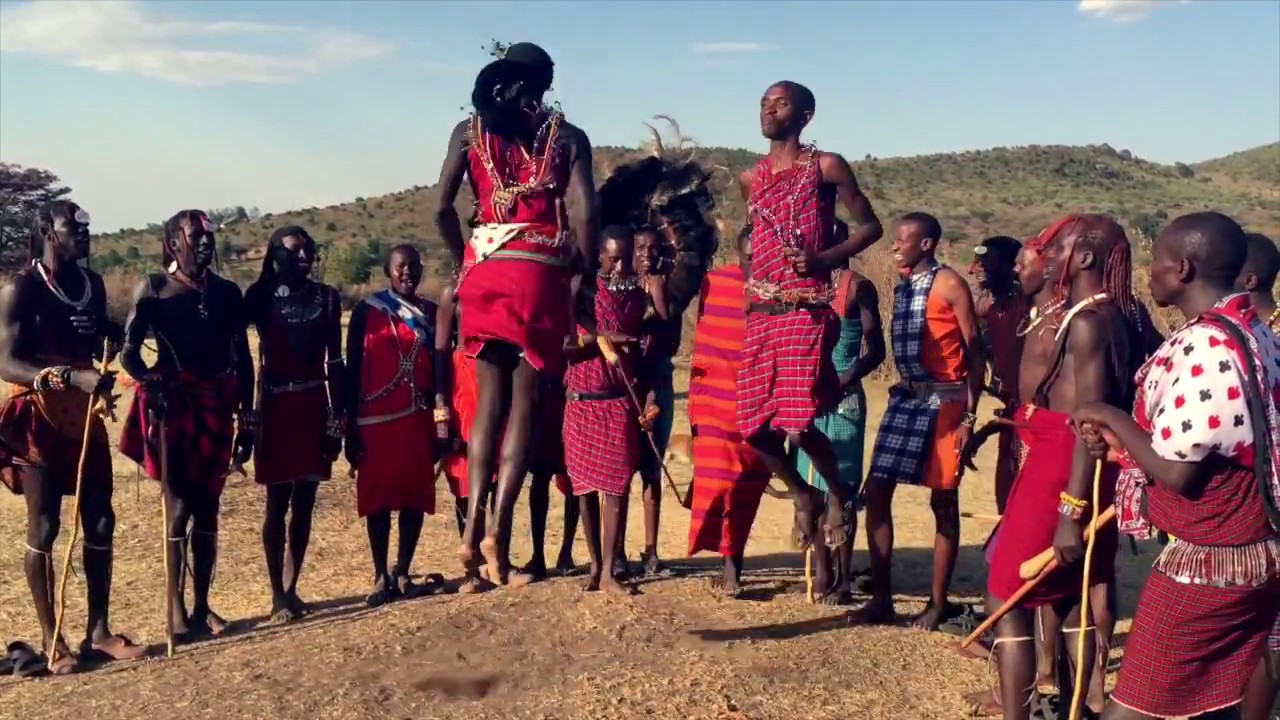 Visiting the Masai in Masai Mara, Kenya, Africa - YouTube