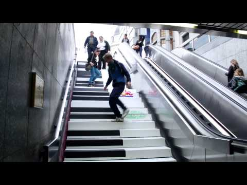 Musical Stairs in Brussels