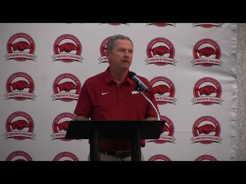 Dave Van Horn's full speech at the Swatters' Club