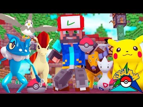 FROGURT THE FROGADIER!!!!!! [#4] | Minecraft: Pokémon Trinity [Pixelmon] - Видео из Майнкрафт (Minecraft)