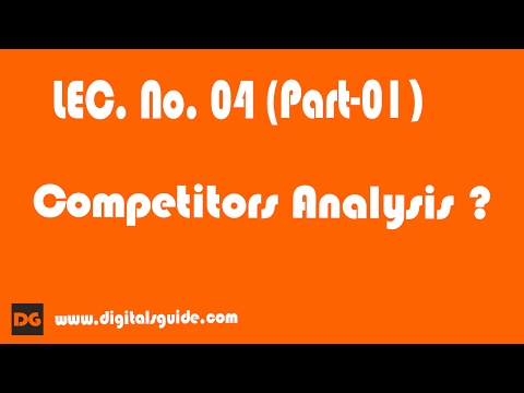 SEO Competitors Analysis  Lec -04( Part 01) In Urud / Hindi