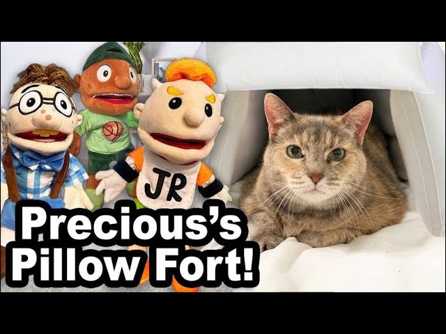 SML Movie: Precious's Pillow Fort!