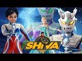 Shiva Antv Frozen Elsa Play Ultraman Zero Vs Agul Super Animasi Nursery Rhymes W