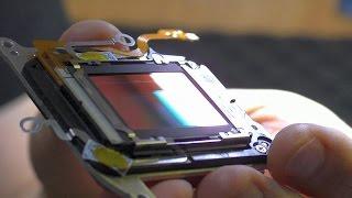 Искажения, рябь и чёрные фото. Зеркальная фотокамера Canon 600D. ЗАМЕНА CMOS МАТРИЦЫ