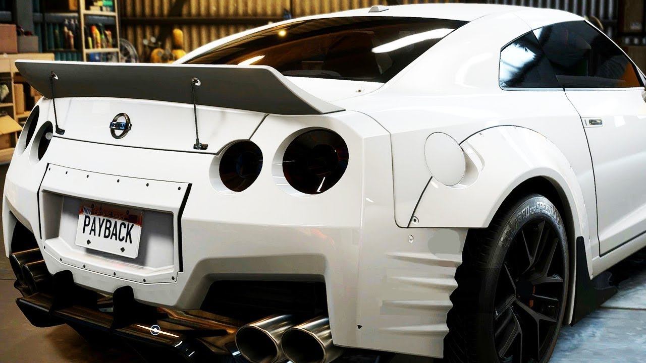 Ultimate Nissan Gtr Build 1000 Hp Need For Speed Payback