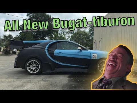 Guy Turns Hyundai Into FAKE Bugatti (Sh*tty Car Mods Reddit)