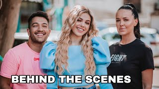 Savrsen tim!🎬 BEHIND THE SCENES - AN NA COKOLADA *vlog*