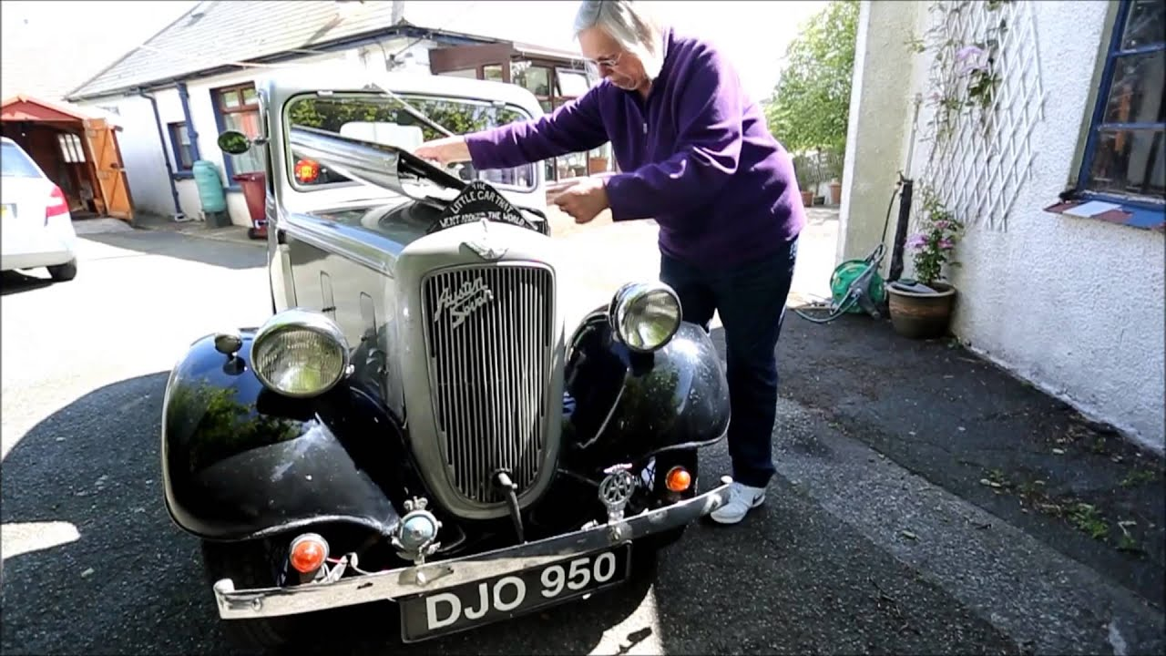 For sale, 1937 Austin Seven which has traveled around the world ...
