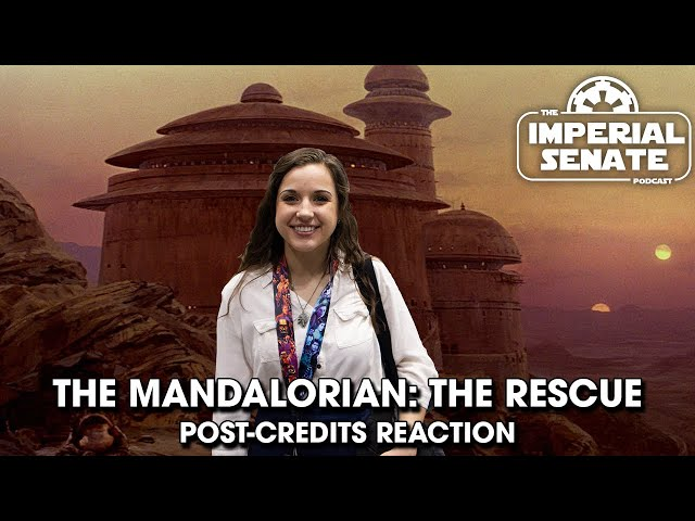 The Mandalorian S2 Finale: Post Credit Scene (REACTION)
