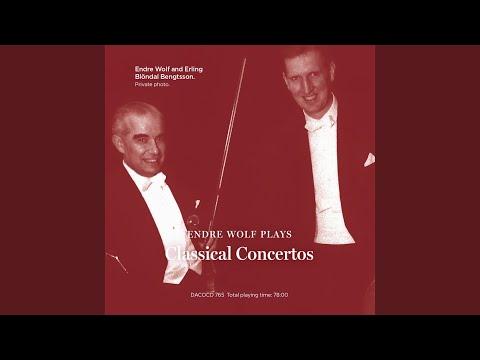 Concerto for Violin, Violoncello and Orchestra in A Minor, Op. 102: I. Allegro