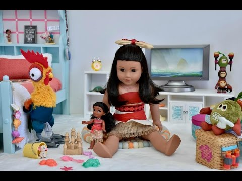 American Girl Doll Moana Bedroom