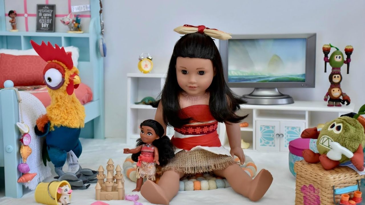 american girl doll moana bedroom youtube 14010 | maxresdefault