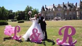 Красивая свадьба во Французском замке