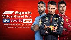 LIVE! Sergio Aguero, Charles Leclerc & Alex Albon race the Spanish GP! | Virtual Grand Prix