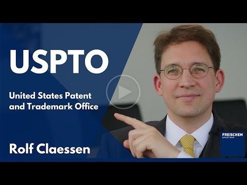 USPTO - United States Patent and Trademark Office -  US Patent Office #rolfclaessen