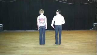 Hustle 101-01 - Basic Rhythm w Erik & Anna