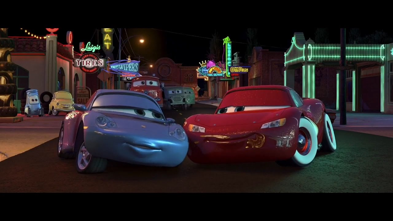 Cars Sally And Lightning Mcqueen Kiss 28 Images