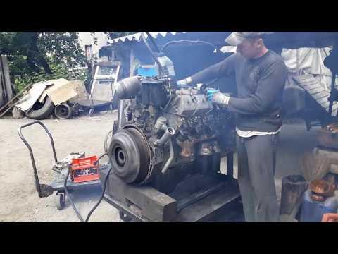 Запуск двигателя Камаз740 после ремонта без авто!!! Diesel Engine Start Without Car!!!