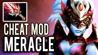 Cheat Mod ON! Monster Machine Gun Vengeful Spirit with 30 Kills Gameplay 8k MMR Dota 2