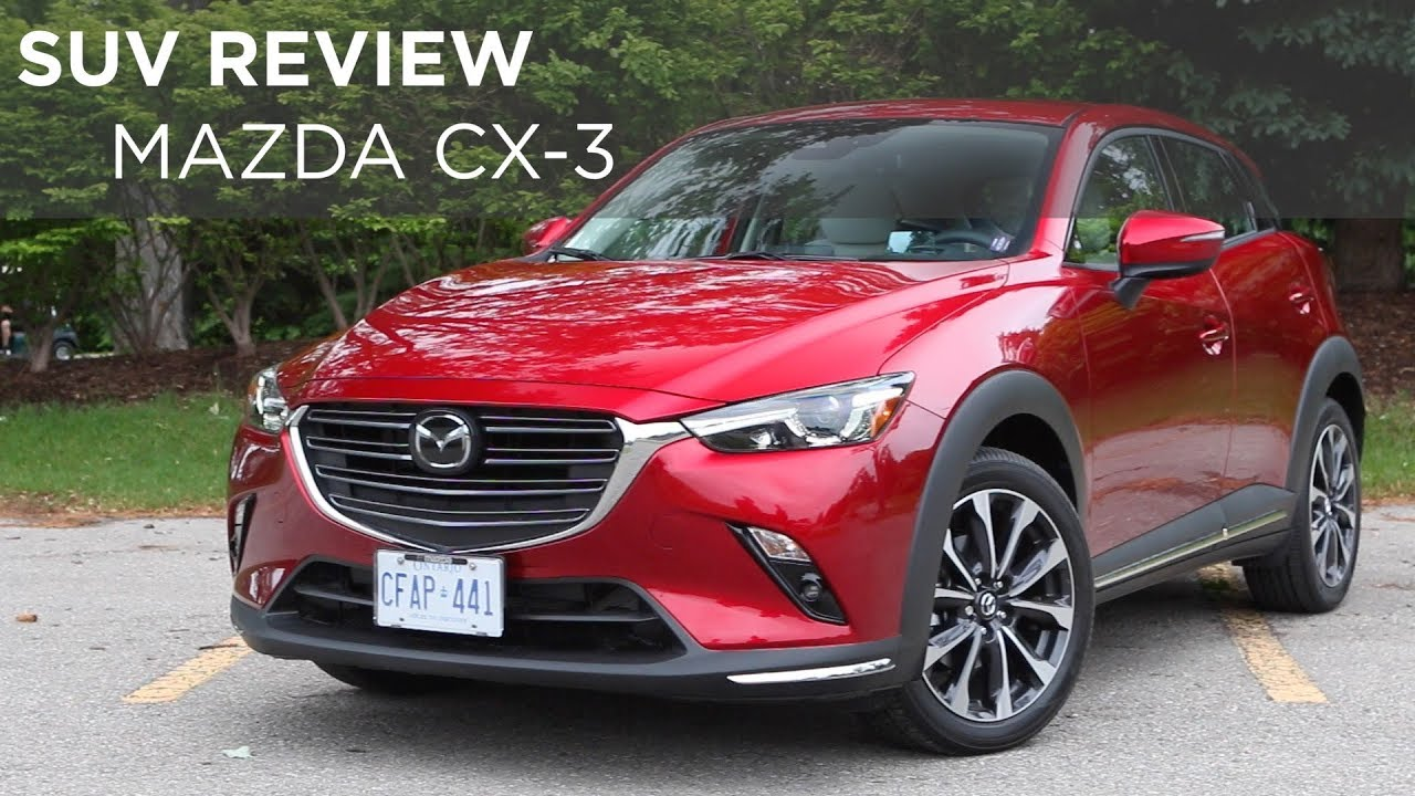 Suv Review 2018 Mazda Cx 3 Driving