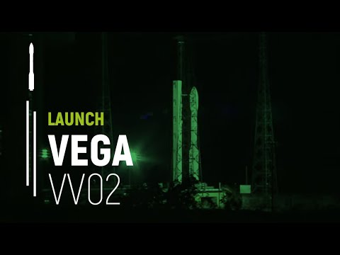 Arianespace Flight VV02 / Proba-V, VNREDSat-1 and ESTCube-1
