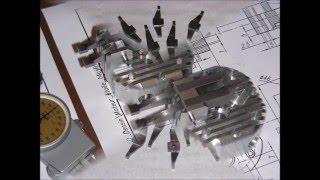 Construction moteur 14 cylindres étoile Partie 6 Culbuteurs