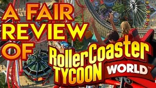 A Fair Review of Roller Coaster Tycoon World