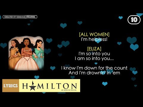 #10 Hamilton - Helpless (VIDEO LYRICS)