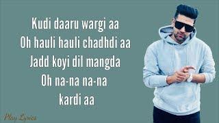 Daaru Wargi (lyrics) : Guru Randhawa | Emraan Hashmi | Cheat India |