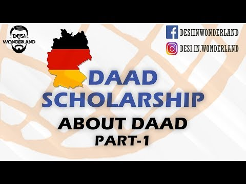 DAAD Scholarship - About scholarship - Part 1