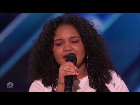 Amanda Mena - (You Make Me Feel Like) A Natural Woman (Aretha Franklin cover) [AGT 2018]