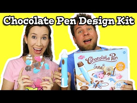 Chocolate Pen Design Set Review