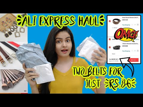 Under ₹99 AliExpress Haul | Trick To Get More Discount🤑
