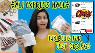 Under ₹99 AliExpress Haul | Trick to get more Discount????