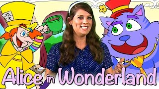 Alice in Wonderland - FULL Story! | Story Time with Ms. Booksy at Cool School