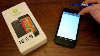 Motorola Moto G - Tesco version