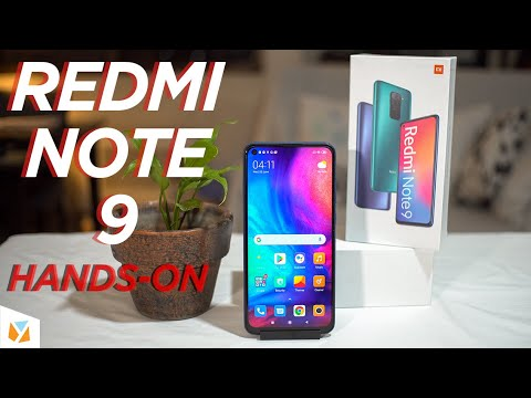 Redmi Note 9 Unboxing and Hands-On