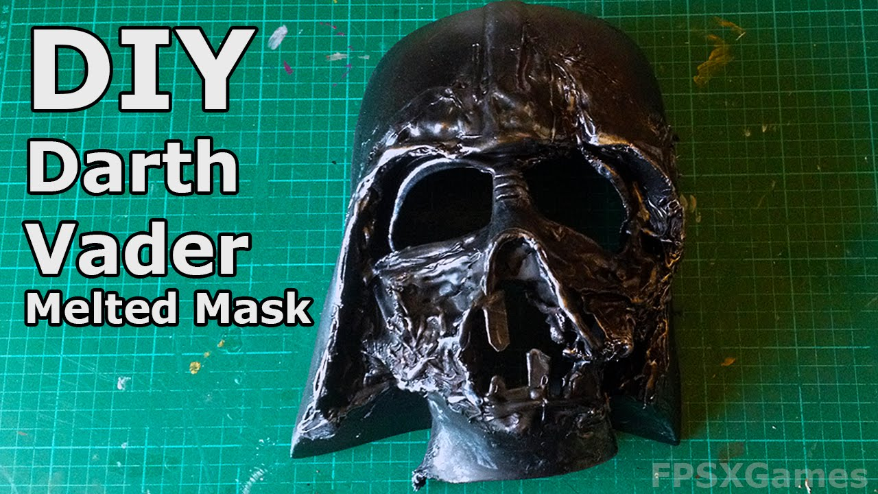 DIY Darth Vaders Melted Mask