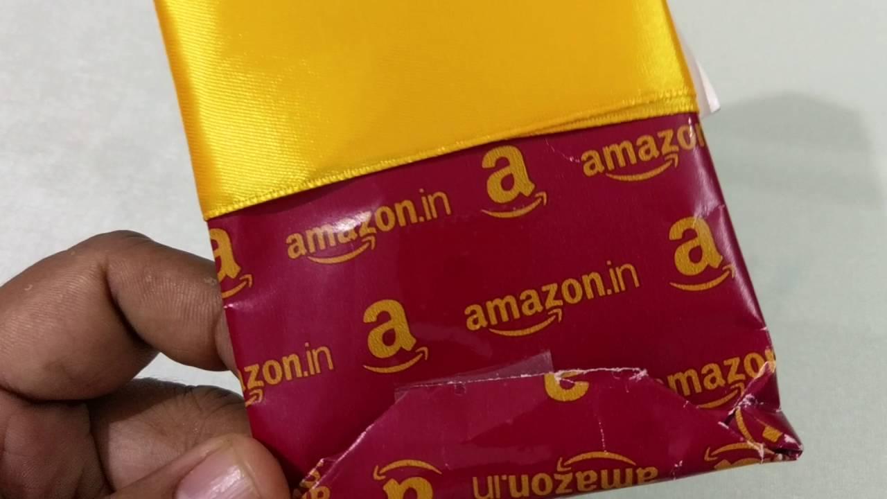 amazon India gift packing! pathetic - YouTube