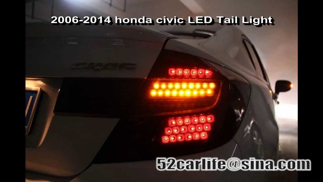 honda civic type r 2006 2014 led tail lights rear lights. Black Bedroom Furniture Sets. Home Design Ideas