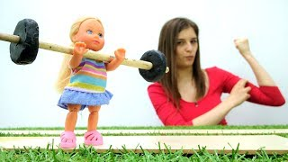 #БАРБИ, Кен и Штеффи. Видео для детей: #ToyClub ищем игрушки. Куклы Барби