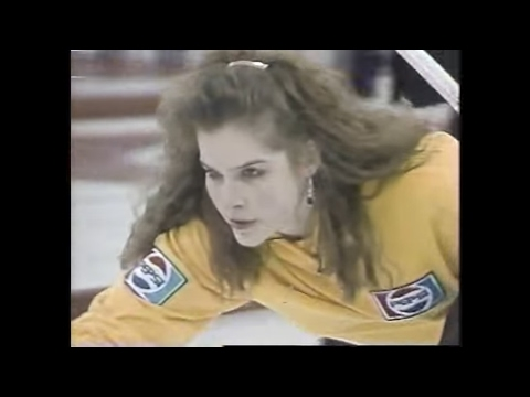 Canada Jr Womens Curling Championship 1991 - part 2 - Jennifer Jones