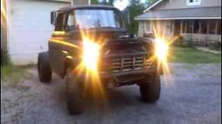 55 Chevy 3100 12 Valve Cummins Diesel