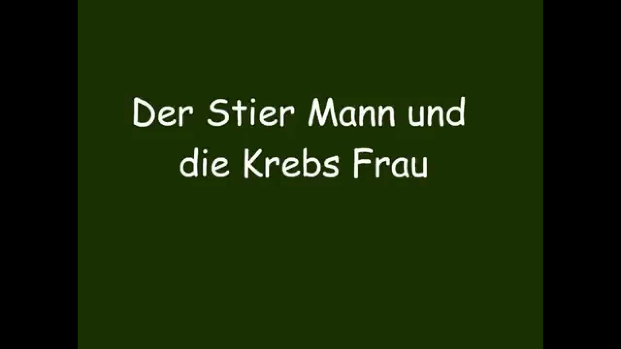 der stier mann und die krebs frau youtube. Black Bedroom Furniture Sets. Home Design Ideas
