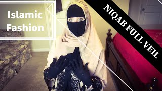 FULL VEIL Part 5 | COVERED MUSLIM | REVERT WOMAN IN USA