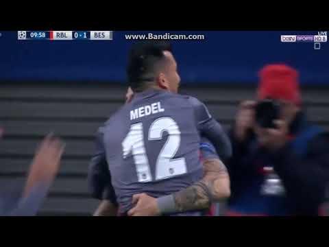 Leipzing 0   1 Beşiktaş Alvaro Negredo Gol